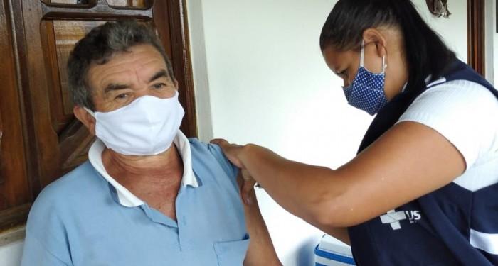 Chã Preta ultrapassa marca de 60% da população vacinada com primeira dose contra Covid-19