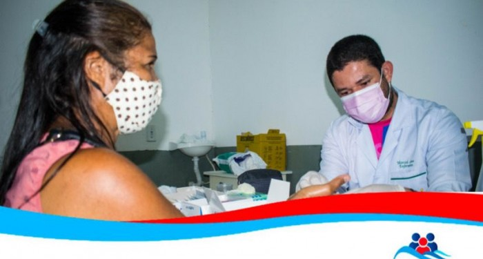 Saúde em ação para os moradores da Zona Rural